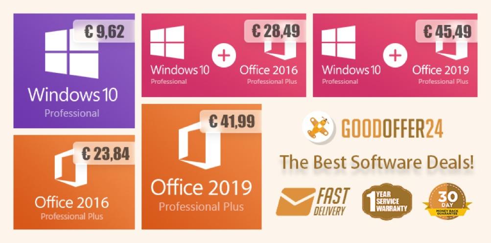Ušetřete hodně na posledních verzích od Microsoftu – na GoodOffer24!