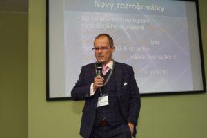 Vladimír Pikora na konferenci Docuride 2019, Foto: Sabris