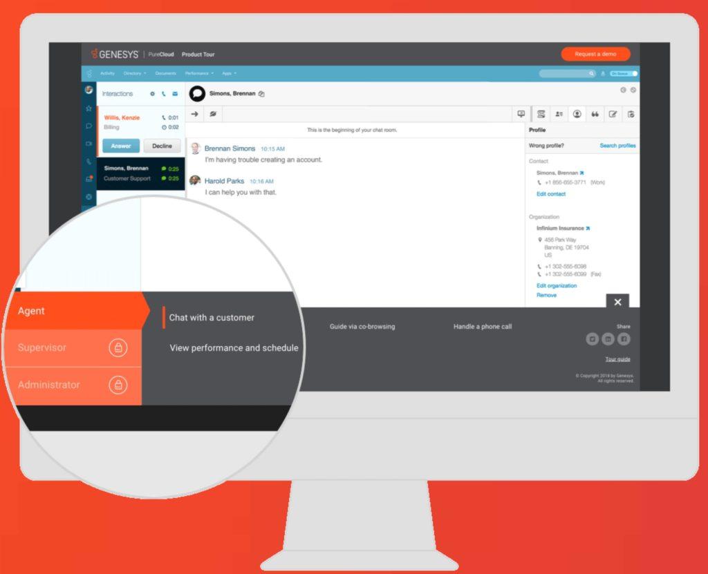 PureCloud nabízí flexibilní a nákladově efektivní nástroje, které lze snadno aktualizovat a přidávat nové funkce.