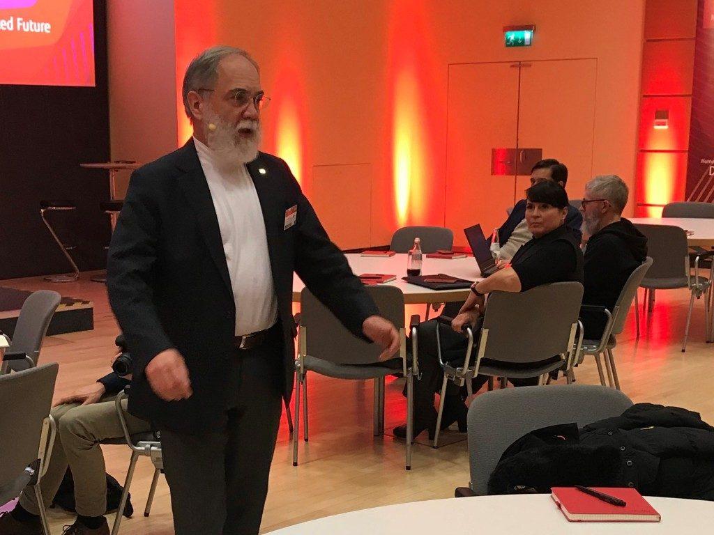 Fujitsu Forum 2019 Josef Reger, CTO a Fujitsu Fellow