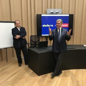2.Alessandro de Bartolo, Country Manager, Italy, Lenovo Data Center Group a Andrea Pontremoli, CEO and General Manager Dallara Group